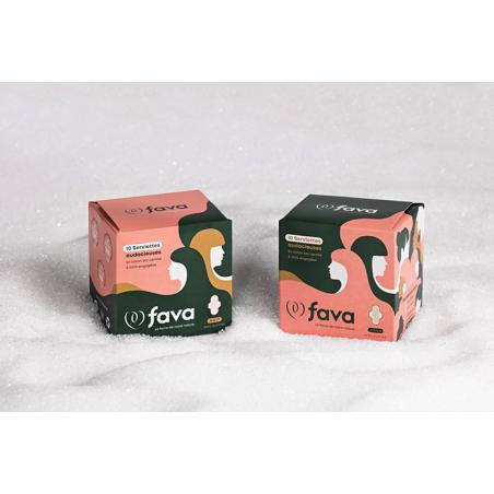 Serviettes audacieuses 5 - Fava
