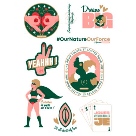 Planche de stickers - Fava