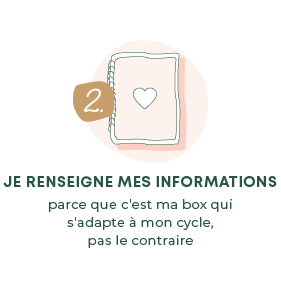2. Je renseigne mes informations