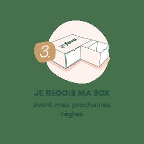 3. Je reçois ma box